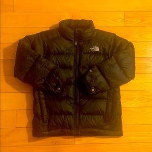 EUC North Face Black Puffer Coat